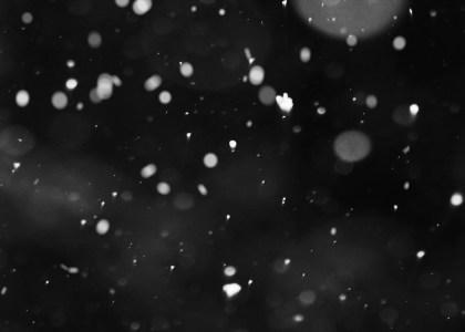 黑底雪花背景高清背景图片素材下载