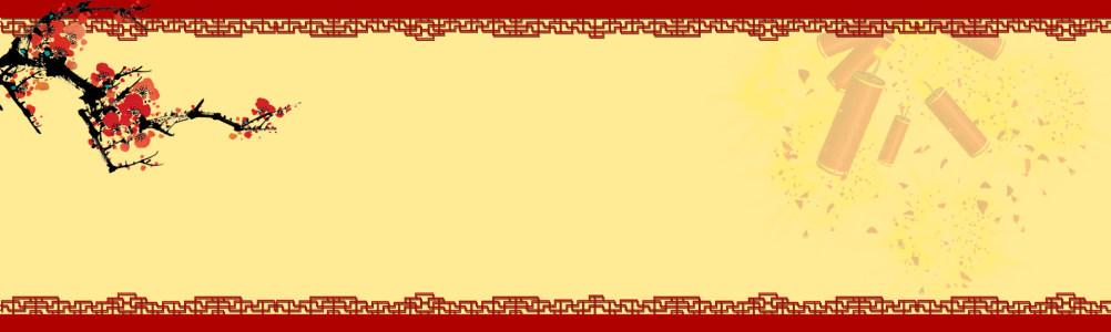 中国风梅花背景