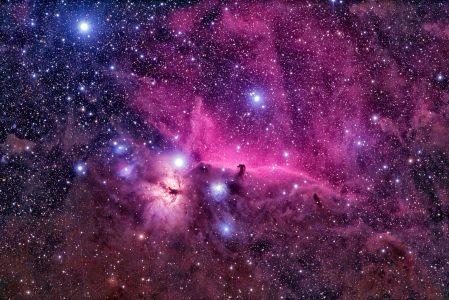 紫色星空背景高清背景图片素材下载