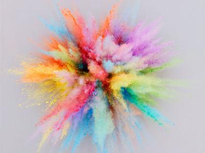 彩色粉末高清背景图片素材下载
