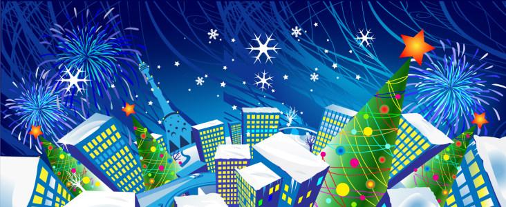 精致圣诞节背景