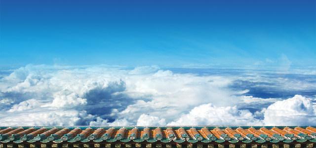 空中摄影背景
