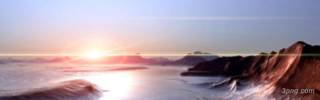 日出背景高清大图-日出背景其他图片