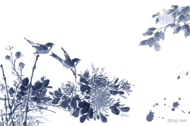 古典中国风海报背景背景高清大图-风海背景Banner海报