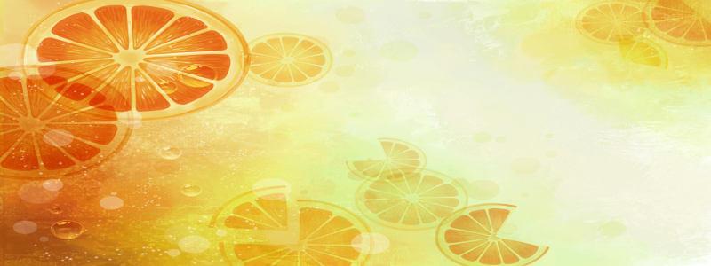 大自然柠檬高清背景图片素材下载