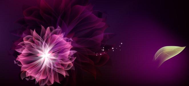 紫色唯美古树天空淘宝背景图