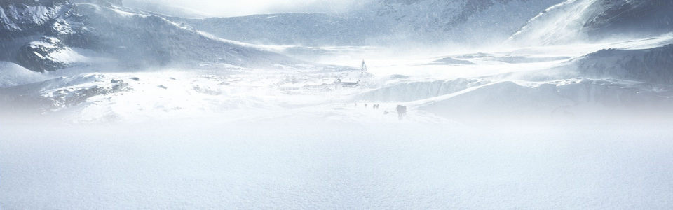 冬季远山背景
