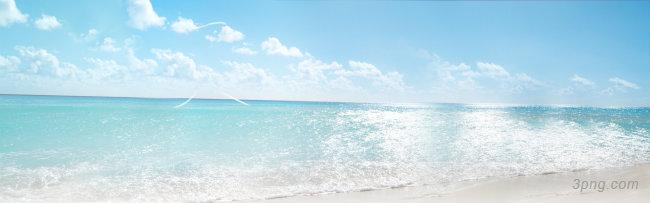 大气夏季女装海滩背景背景高清大图-海滩背景淡雅/清新/唯美