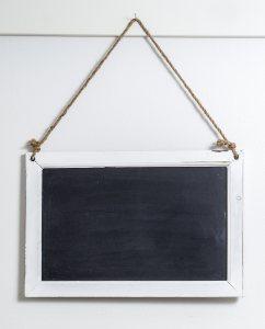 复古小黑板公告板
