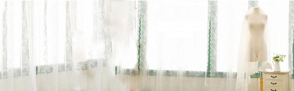 婚纱唯美白色背景banner
