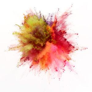 彩色粉尘高清背景图片素材下载