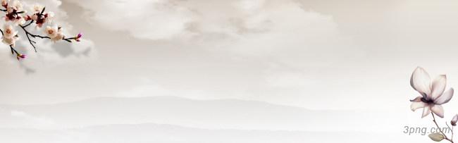 山水海报背景背景高清大图-山水背景淡雅/清新/唯美