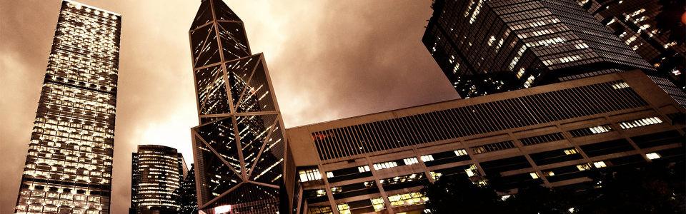 都市简约大气灯光海报背景