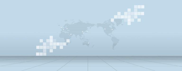 互联网商务地图背景banner