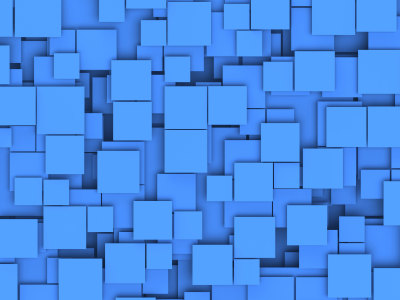 蓝色的方块背景高清背景图片素材下载