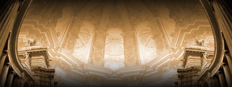 欧式古典建筑海报
