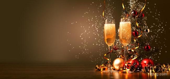 缤纷节日庆祝香槟酒背景背景高清大图-香槟酒背景节日/喜庆