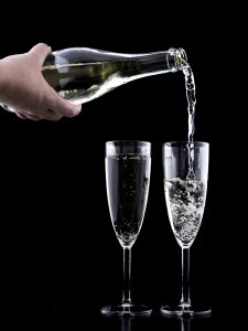 香槟酒高清背景图片素材下载