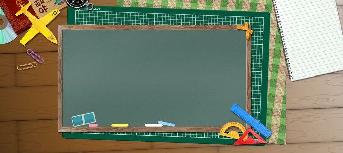 黑板简易背景