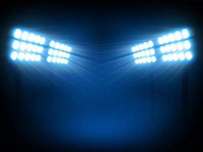体育场灯光背景