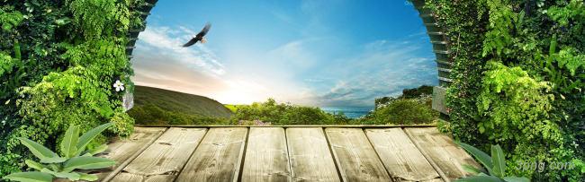木板台面场景背景背景高清大图-台面背景场景/舞台