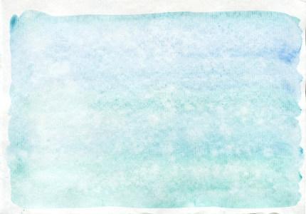 夏季水彩晚霞沙滩棕榈树背景