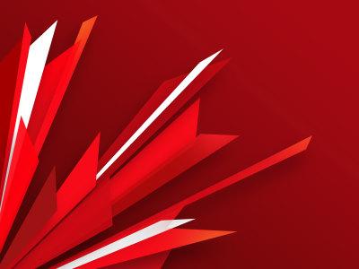 抽象红色线条背景