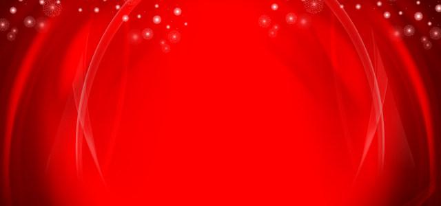 红色舞台背景