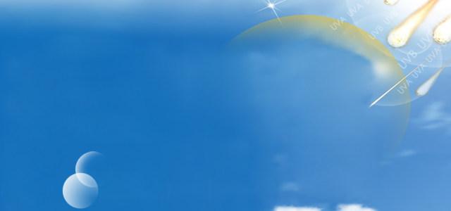 蓝天光线雨滴背景图高清背景图片素材下载
