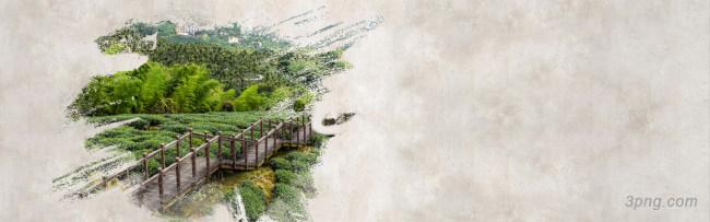 创意水墨中国风海报背景背景高清大图-风海背景淡雅/清新/唯美