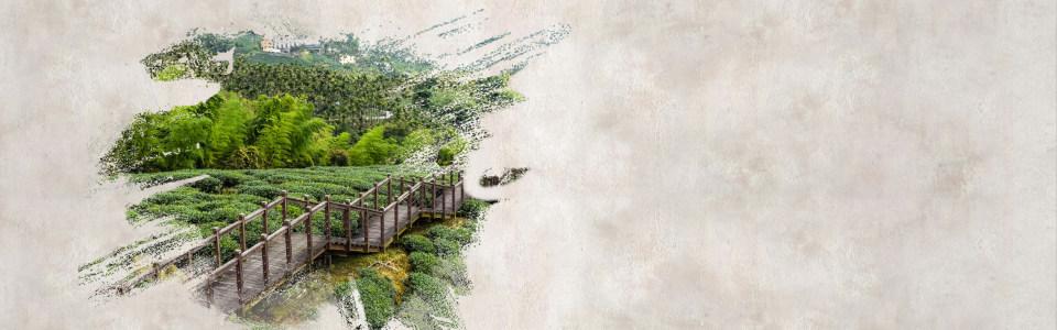 创意水墨中国风海报背景高清背景图片素材下载