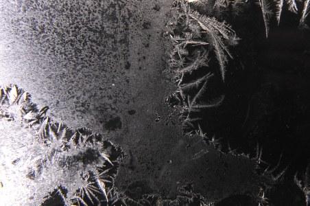 雪花冰晶背景