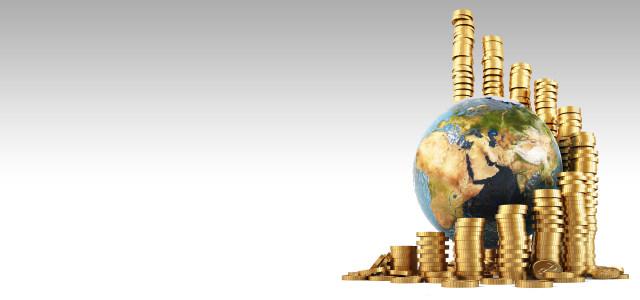 金币地球商务背景