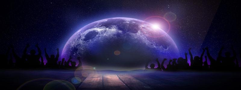 地球背景海报