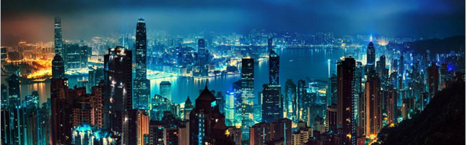 夜晚都市淘宝海报背景高清背景图片素材下载