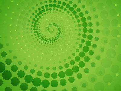 绿色点缀旋转背景高清背景图片素材下载