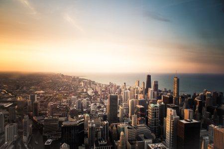 城市高清背景