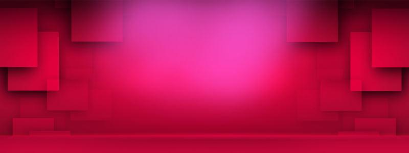 红色立体背景