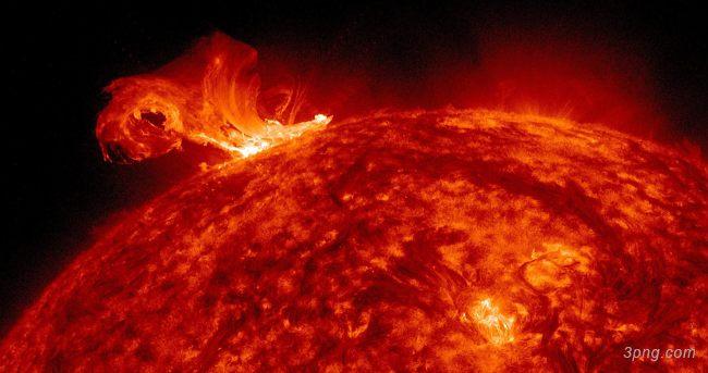 太阳风暴岩浆背景背景高清大图-太阳风暴背景自然/风光