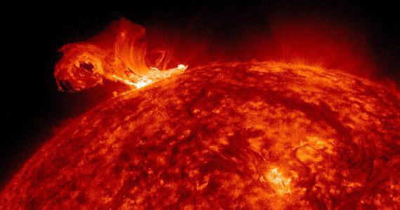 太阳风暴岩浆背景高清背景图片素材下载