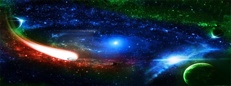 璀璨星空背景高清背景图片素材下载