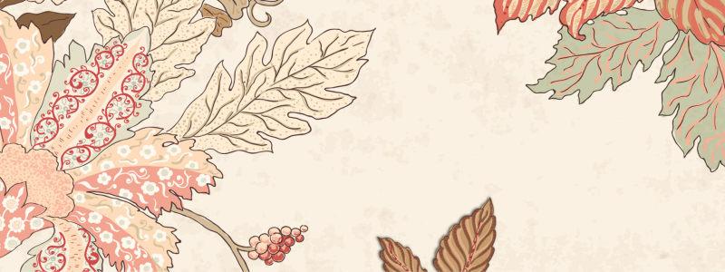 淘宝复古花纹背景