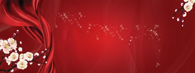 红色喜庆海报高清背景图片素材下载