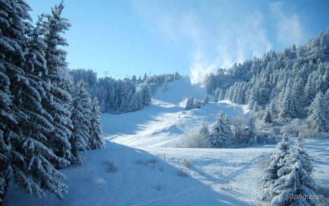 冬季雪景雪地背景背景高清大图-雪景背景底纹/肌理