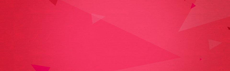红色几何背景banner