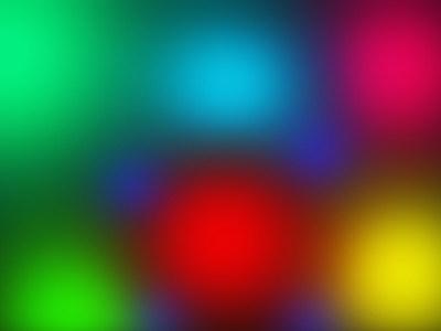 彩色光斑背景