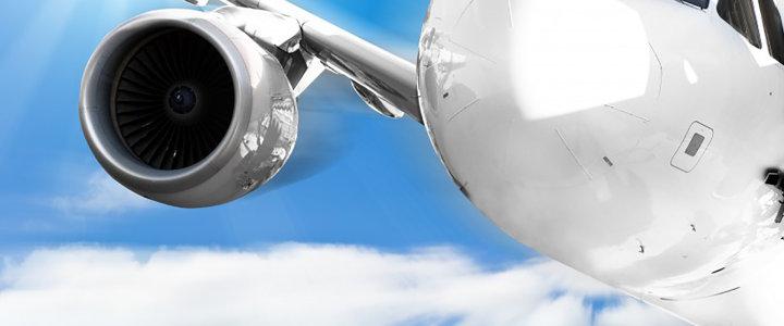 云层 飞机 背景