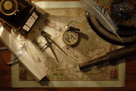 复古地图航海背景高清背景图片素材下载
