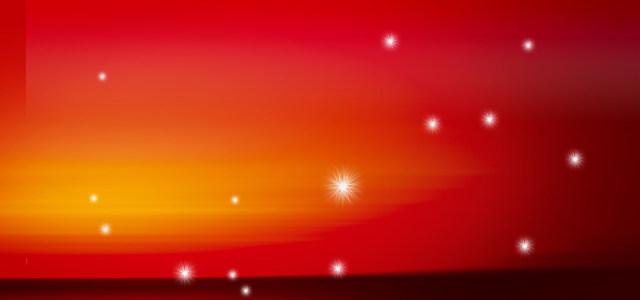 淘宝天猫双11红色星光背景