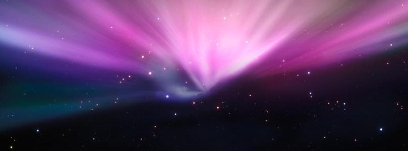黑色宇宙绚丽光线背景banner
